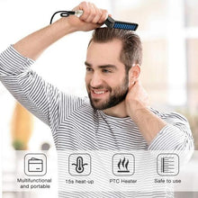 Load image into Gallery viewer, 2 In 1 Hair & Beard Styler Modeling Comb