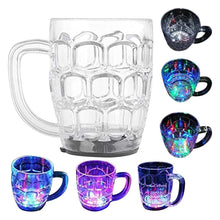 Load image into Gallery viewer, 619 Led Glass Cup (Rainbow Color)