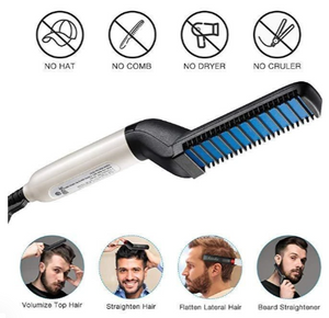 2 In 1 Hair & Beard Styler Modeling Comb