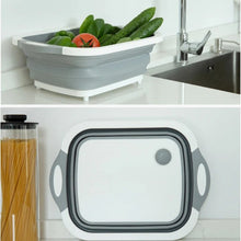 Load image into Gallery viewer, 3 In 1 Multi-Functional Collapsible Cutting Board With Dish Tub™