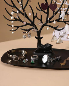 Deer Head Shape Tree Jewellery Organizer Stand™