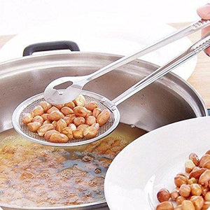 Upgraded Stainless Steel Frying Spoon With Holder™