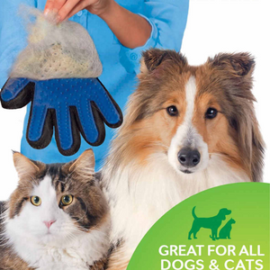 True Touch™ Pet Grooming & Deshedding Glove (1 Pair)