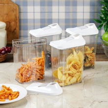 Load image into Gallery viewer, Easy Flow Storage Jar with Lid™ (750ml, Set of 6)