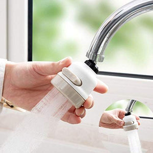 Upgraded 3 Modes Water Saving Nozzle, 360 Degree Rotating Faucet