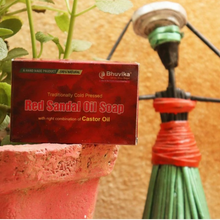 Load image into Gallery viewer, Red Sandal Oil Soaps - Bhuvika™
