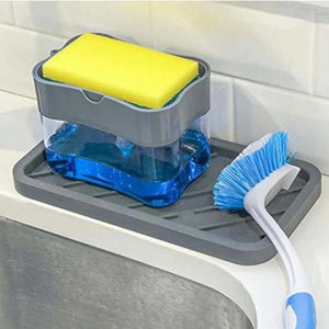 Stylish Liquid Soap Dispenser (With Free Sponge)