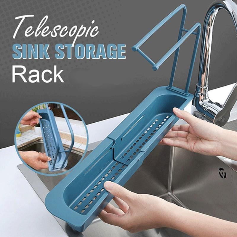 Telescopic Sink Storage Rack™