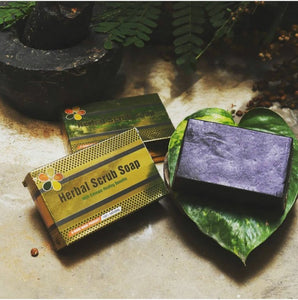 Herbal Scrub Soap - Bhuvika™