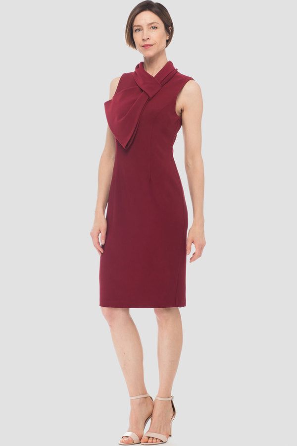 Joseph Ribkoff Sleeve Bow Front Dress