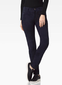 Ecru the Hudson Suede Jean