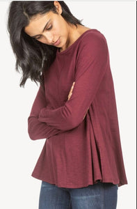 Lilla P Long Sleeve Swing Top