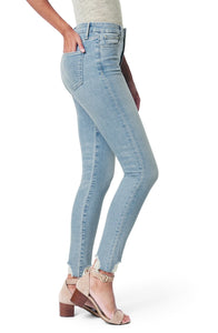 Joe's Jeans The Charlie Destroyed Hem High Waist Ankle Skinny Jeans