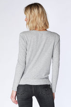 Load image into Gallery viewer, Bobi Twist Tee Heather Grey