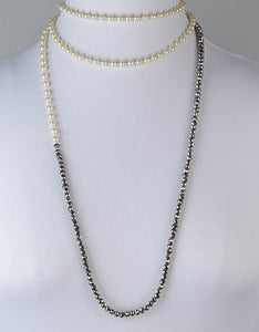 Millianna Erte Long Necklace