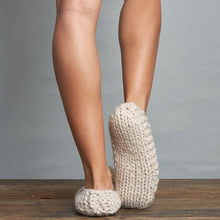 Load image into Gallery viewer, Lemon Popcorn Ballerina Slipper W/ Berber - White Sand