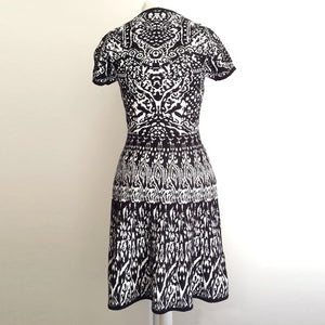 Katherine Barclay Patterned Sweater Dress- TBC