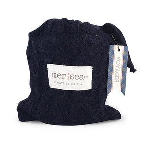 Voyager Sweater Sandbag Candle- Mer Sea