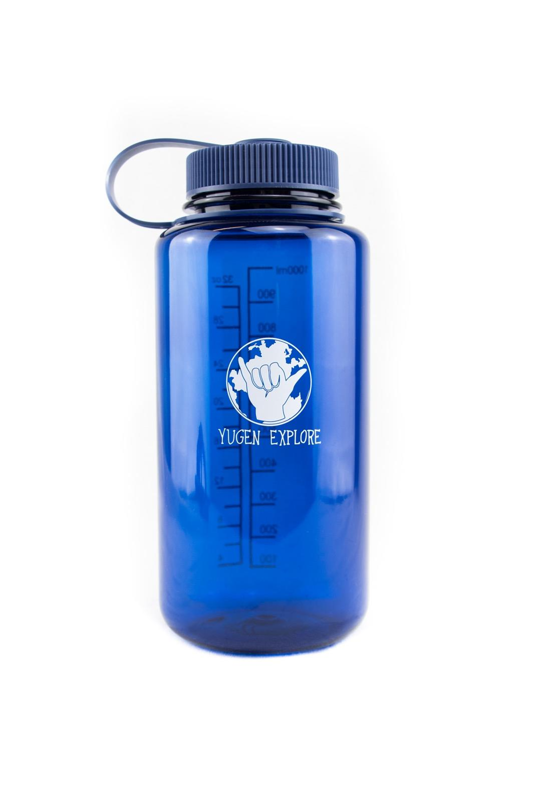 Yugen Explore Water Bottle Blue or Black