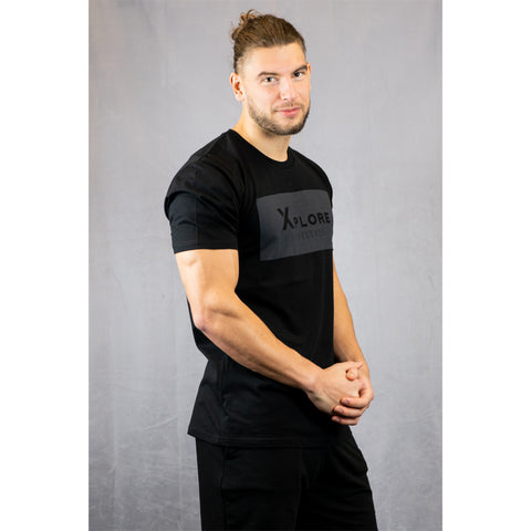 Xplore Lifestyle Mens Lifestyle Tee - Black
