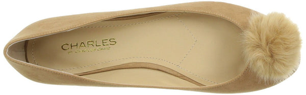 CHARLES BY CHARLES DAVID Women's Danni Ballet Flat, Chestnut, 8.5 M US NEW