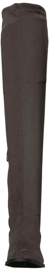 Qupid Women's VINCI-49XX Over The Knee Boot, Charcoal, 6.5 M US