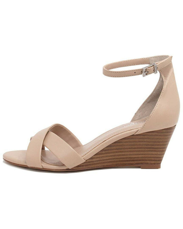 CHARLES BY CHARLES DAVID Griffin Wedge Sandal, 8 Nude