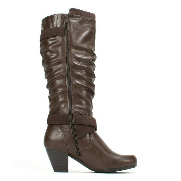 RIALTO 'Crystal' Women's Boot, Brown - 7 M