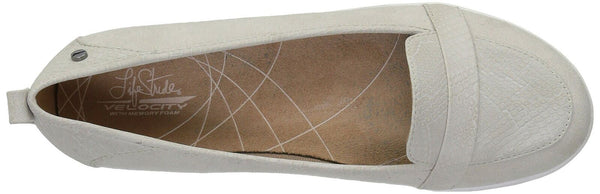 LifeStride Women's Nadia Pump, Soft Grey, 6.5 M US