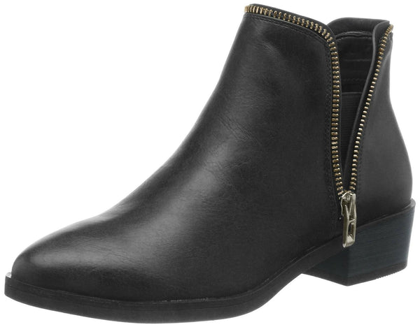 Call It Spring Women's UMIGON Ankle Boot, Black, 8 D US