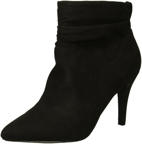 Fergalicious Women's Sheila Ankle Boot, Black, 5.5 M US