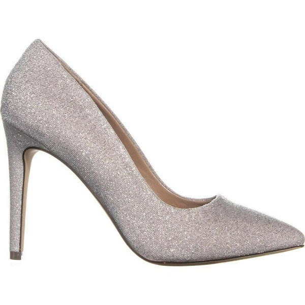 CALL IT SPRING Womens Agrirewiel Fabric Pointed Toe Classic, Pewter, Size 9.0