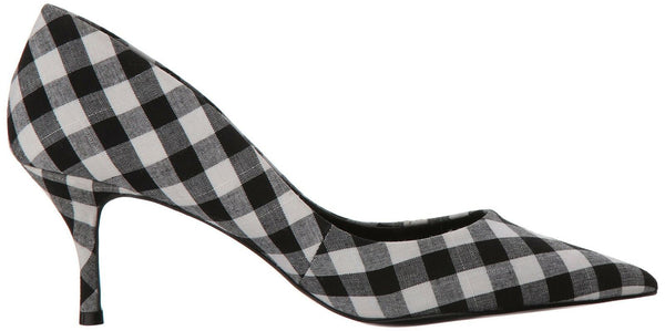 CHARLES BY CHARLES DAVID Women's Addie Pump, Black/White, 6 M US