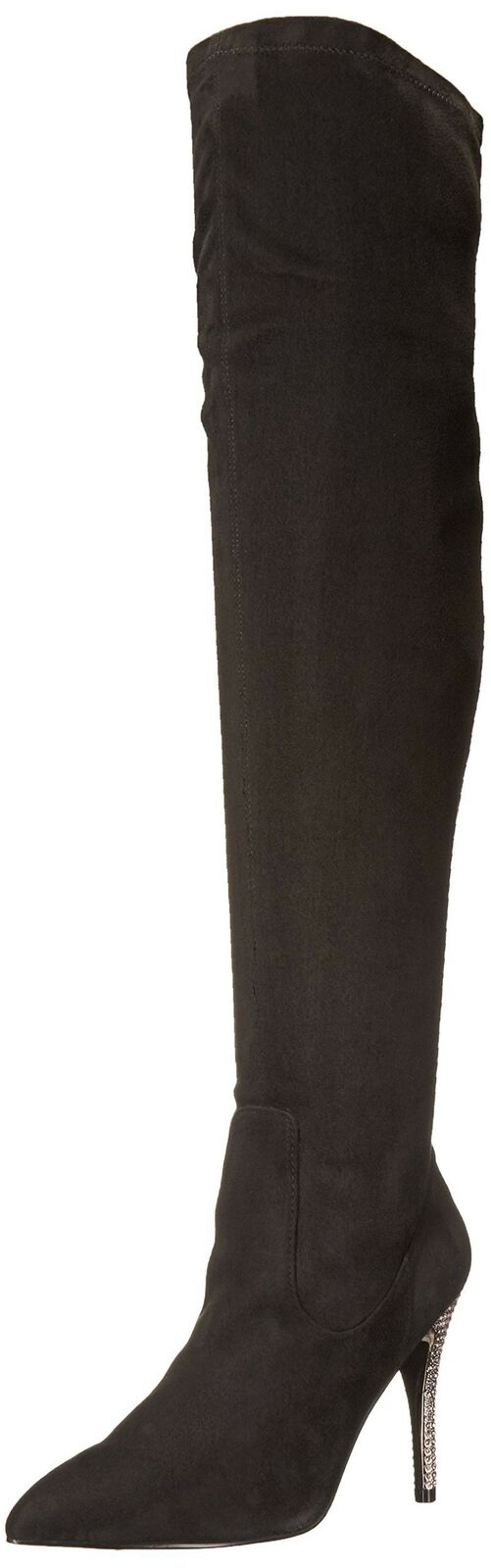 Nina Women's Rocklin-Fy Slouch Boot, Noir Stret Glam SD/Stone, 8 M US