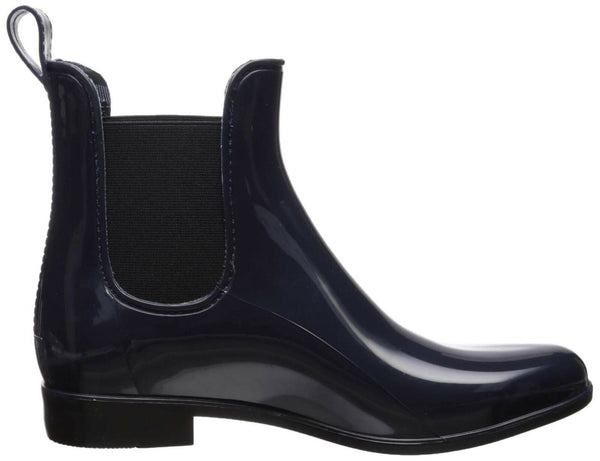NINE WEST Women's Creamsicle Synthetic Ankle Boot, Navy, 6 M US