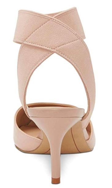 INC International Concepts Womens LAYLONI Fabric Pointed, Pink Bloom, Size 9.0