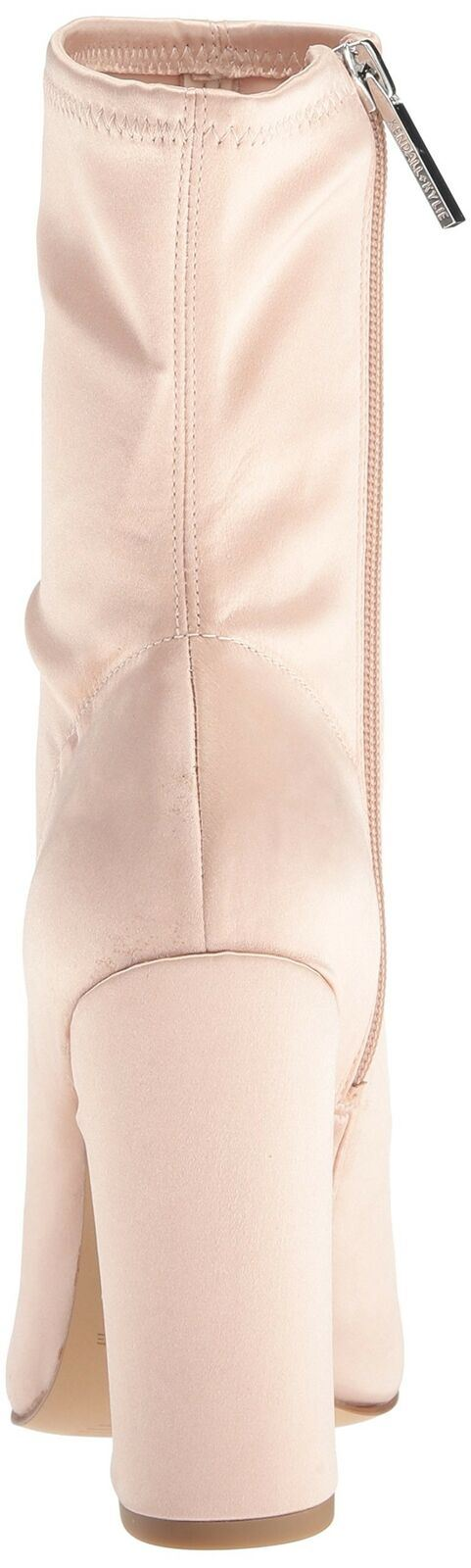 KENDALL + KYLIE Women's Hailey Ankle Boot, Blush, 8 Medium US