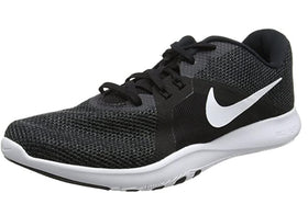 NIKE WOMEN'S FLEX TRAINER 8 CROSS, BLACK/WHITE - ANTHRACITE, 9 REGULAR US