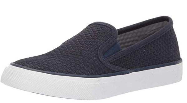 SPERRY WOMEN'S SEASIDE EMBOSS SNEAKER, NAVY, 11 M US