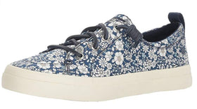 SPERRY WOMEN'S CREST VIBE PRINTS SNEAKER, BLUE/MULTI, 7.5 M US