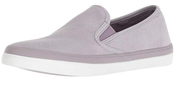 SPERRY WOMEN'S SEASIDE SUEDE SNEAKER, LIGHT PURPLE, M 095 MEDIUM US
