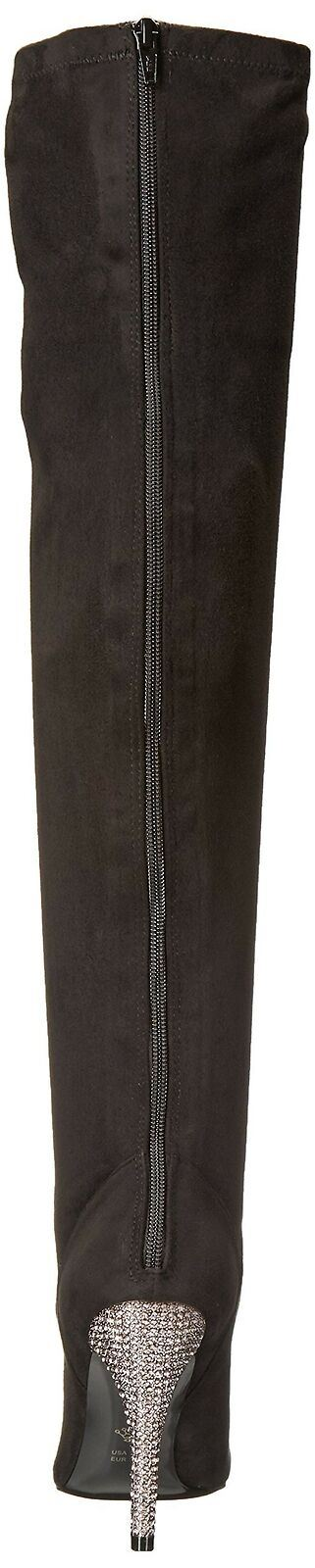 Nina Women's Rocklin-Fy Slouch Boot, Noir Stret Glam SD/Stone, 8.5 M US