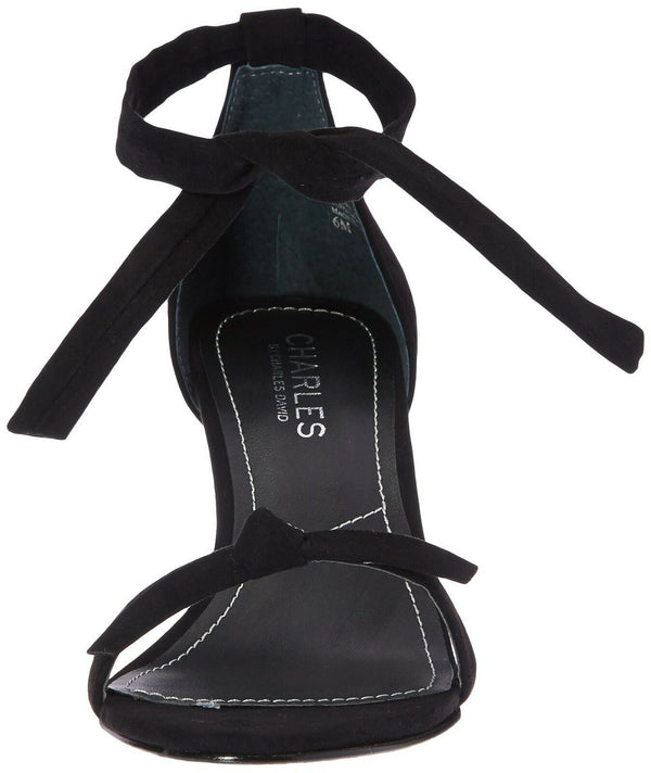 CHARLES BY CHARLES DAVID Women's Nova Dress Sandal, Black, 9.5 M US