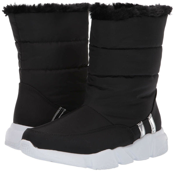 Steve Madden Women's SNOWDAY Fashion Boot, Black, 7.5 M US