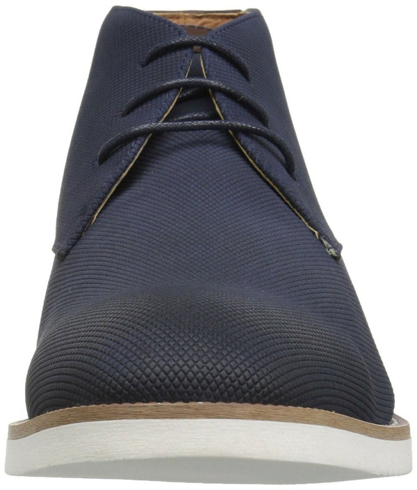 Madden Men's M-Baskit Chukka Boot, Navy Suede, 11.5 M US