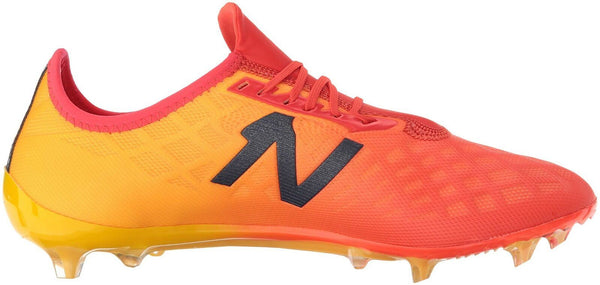 New Balance Men's Furon V4 Soccer Shoe, Flame, 4 D US