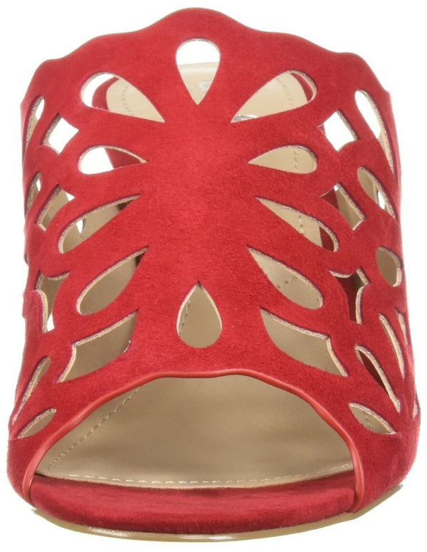 CHARLES BY CHARLES DAVID Women's Nicki Slide Sandal, Scarlet, 5.5 M US
