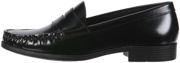 SCHOOL ISSUE Women's Penny Loafer, Dress Shoe, Black, 8 Medium