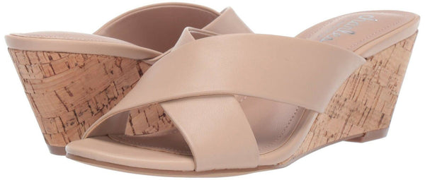 Charles by Charles David Women's Grady Wedge Sandal, Nude, 10 M US