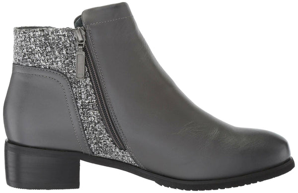 Propet Women's Taneka Ankle Boot, Charcoal, 11 Medium US